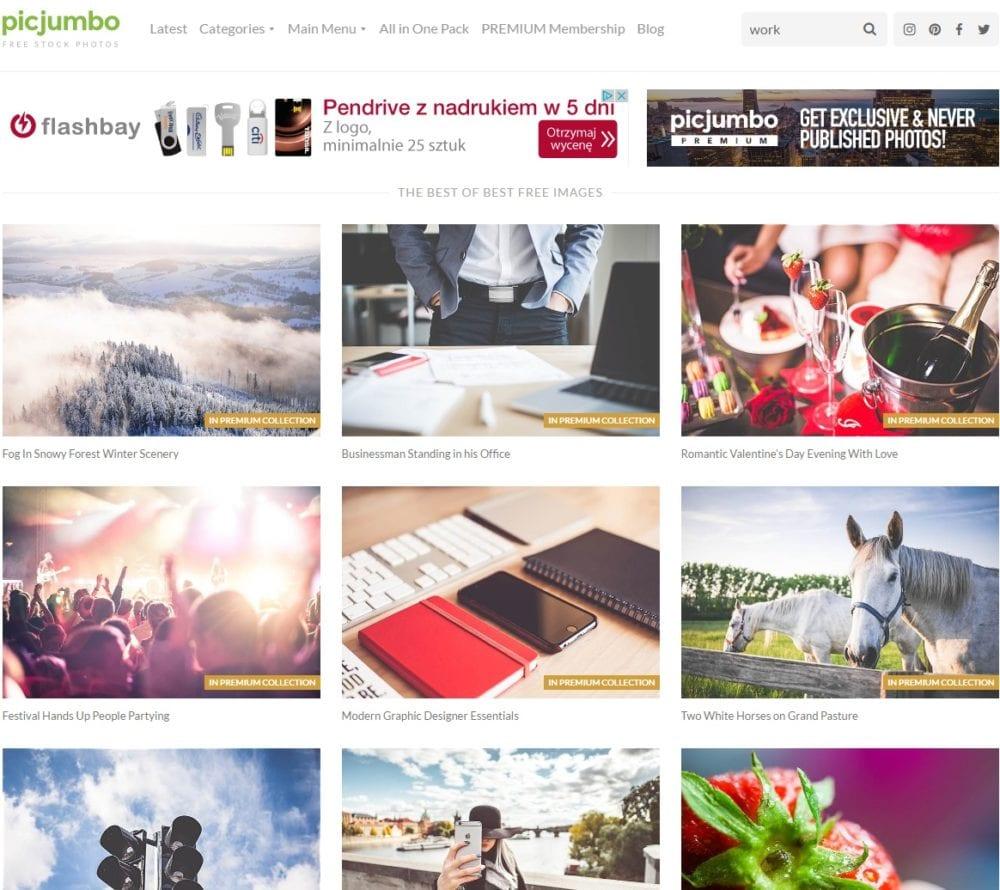 Darmowe zdjęcia na stronę internetową z picjumbo