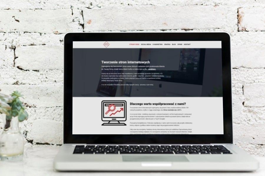 blog-Strona internetowa dla firmy. UWAGA 9na10 firm to olewa.wyróżniające-min