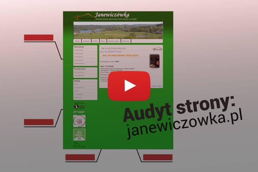 blog-Audyt strony internetowej janewiczowka.pl.wyróżniające-min