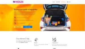 przykład strony internetowej dla jednego produktu