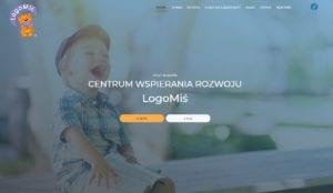 przykład strony internetowej dla logopedy
