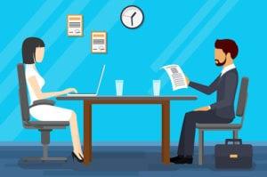 Rozmowa o pracę - pierwsze wrażenie