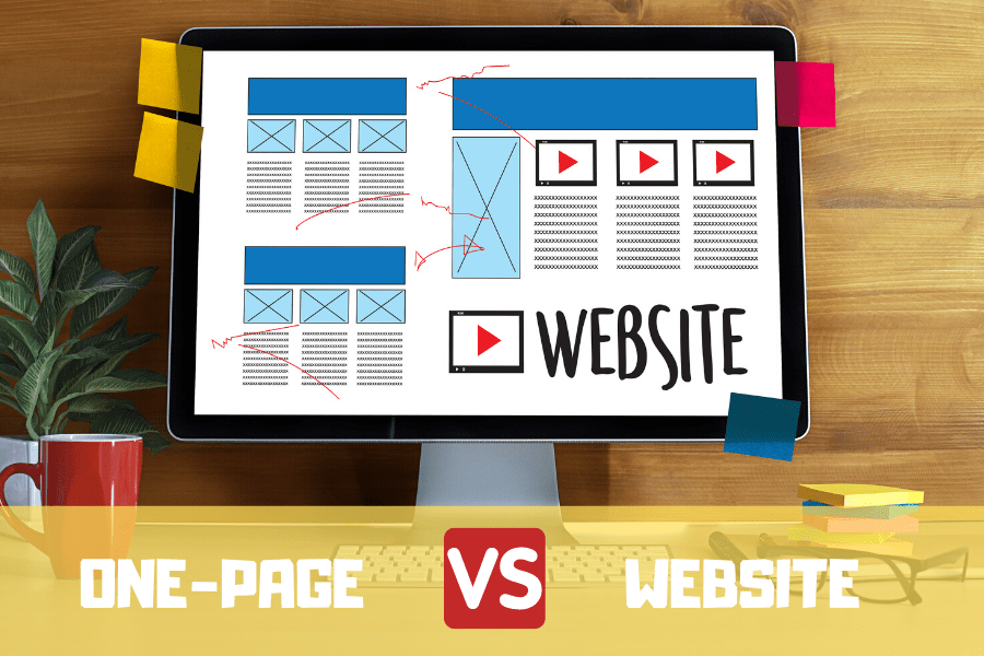 one-page vs website (1)